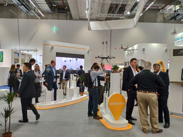 BHCnav at INTERGEO 2018
